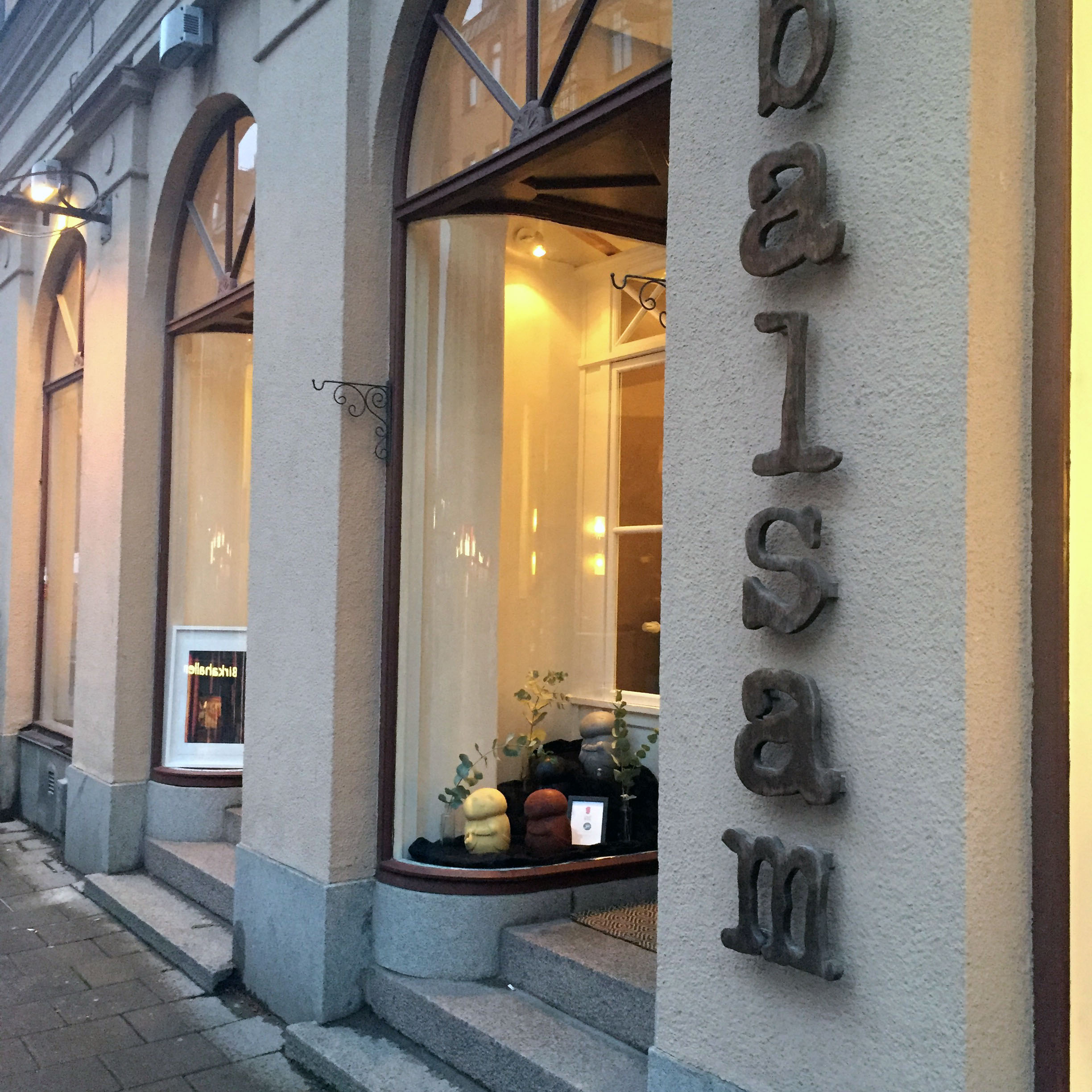 Find us at Balsam in Stockholm