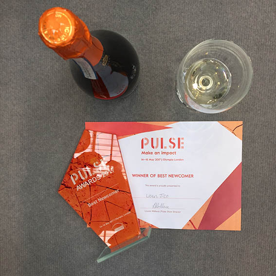 BEST NEWCOMER AWARD AT PULSE
